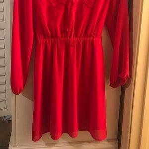 Charming Charlie Dresses - Red Dress